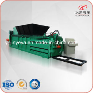 Epm80 Horizontal Plastic Bottle Recycling Compactor Machine pictures & photos
