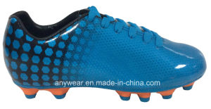 Children Soccer Football Boots with TPU Outsole Kid′s Shoes (415-9465) pictures & photos