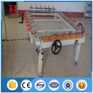 High Tension Cheap Frame Screen Mesh Stretching Machine pictures & photos