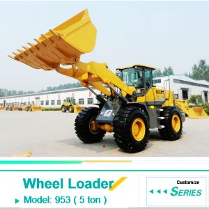 3cbm Bucket Wheel Loader Jc953 5ton with Best Price