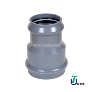UPVC Two Faucet Reducing Joints DIN Pn 10 (rubber ring) pictures & photos