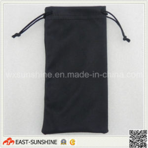 Microfiber Double-Side Drawstring Cloth Bags pictures & photos