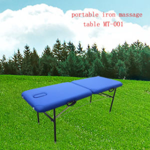 Iron Portable Massage Table (MT-001) pictures & photos