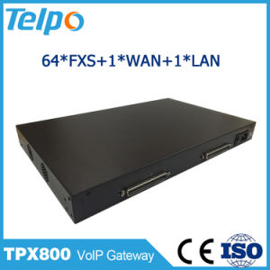 China Supplier Support DHCP Nat 64 FXS/FXO Port VoIP Gateway pictures & photos