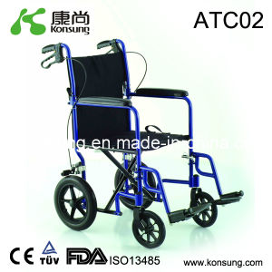 Aluminum Transport Wheelchair (ATC02)