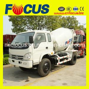 3cbm, 4cbm LHD or Rhd Small Concrete Mixer Truck pictures & photos