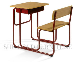 Classroom Single Student Desk & Chair for School Furniture (SZ-SF02) pictures & photos