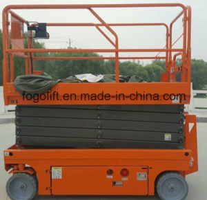 Hydraulic Mobile Self-Propelled Aerial Working Platform Elevated Lift pictures & photos