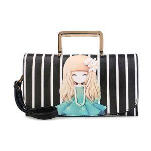 Leisure Printing Bag Fashion Shopping Designer Leather Handbag (XP1801) pictures & photos