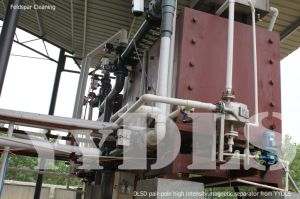 Wet Magnetic Separator for Clays (DLSD)