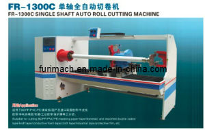 Gum/ BOPP Tape/ Foam Tape Automatic Single Shaft Cutting Machine (FR-1300C) pictures & photos