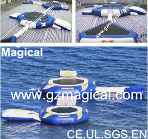 High Quality Inflatable Water Trampoline Combo (RA-060) pictures & photos