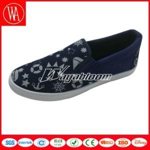 Flat Comfort Canvas Shoes Plain Casual Shoes for Men pictures & photos