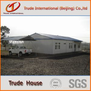 Prefabricated/Mobile/Modular Building/Prefab Color Steel Sandwich Panesls Economic Houses with Garage pictures & photos