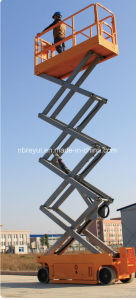 Self-Advancing Scissors Aerial Work Platform pictures & photos