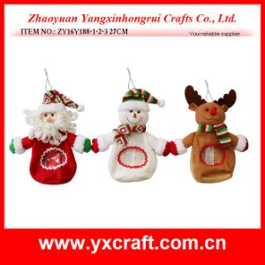 Christmas Decoration (ZY15Y151-1-2) Christmas Plastic Bag pictures & photos