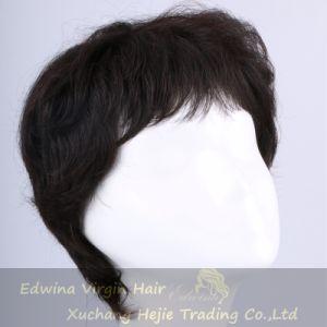 Short Black 100% Human Hair Wigs Human Remy Hair Wigs