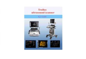 Trolley Color Doppler Ultrasound Machine with 4D Sonogram pictures & photos