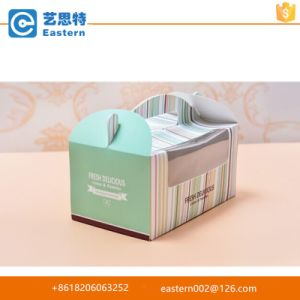 Easy to Go Square Cake Box Cup Cake Box with PVC Window pictures & photos