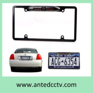 American Car Rear View Camera License Plate Mount Night Vision Waterproof pictures & photos