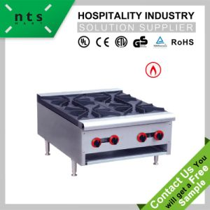 4 Gas Burner Stainless Steel for Kitchen Equipment pictures & photos