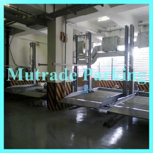 Mutrade Parking Simple Two Post Hydraulic Home Garage Car Lift pictures & photos