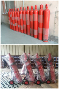 25kg CO2 Fire Extinguisher, CO2 Trolley Fire Extinguisher pictures & photos