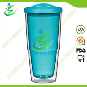 24 Oz Double Wall Acrylic Cup with Lid (TB-A4) pictures & photos