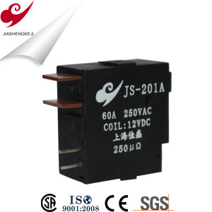 Js201 Magnetic Latching Relay with Single or Double Coil