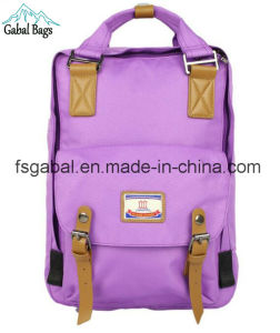 Korean Ripstop Polyester High School Student Sports Backpack Bag pictures & photos