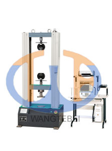 Tensile Stretch and Shear Testing Machine for Ring of Filament-Winding Plastics ASTM D2291, ASTM D2290, ASTM D2344 pictures & photos