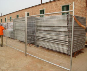 Wire Mesh Fence Temporary Fence pictures & photos