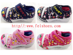 Best Seller Popular Baby Canvas Shoes (HH12-35) pictures & photos