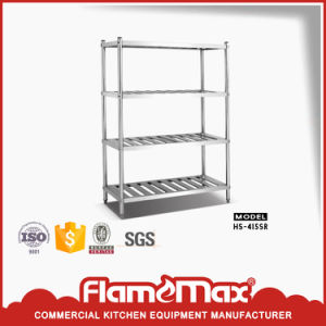 4-Tier Perforated Storage Shelf (HS-415S) pictures & photos
