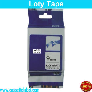 Compatible for Tze-221 Label Tape Brother P-Touch Tape Tz-221 Tze221 Tz221 Labeler Tape Printer Ribbon Tze 221 Tz 221