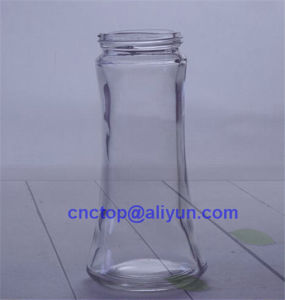 150ml Crystal Shaped Sauce Jar Glass Bottle pictures & photos