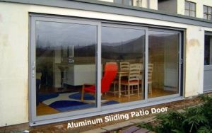 Aluminum Framed Double Glazed Sliding Door (aluminium commercial sliding door) pictures & photos