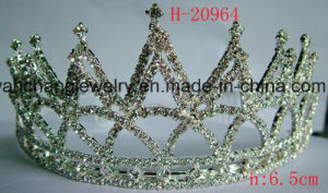 Bridal Rhinestone Tiara, Wedding Tiara Crown, , Fashion Accessories (h-20964)