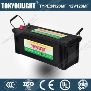 JIS Standard Maintenance Free Truck Battery with N120mf 12V120ah