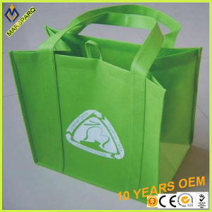 Custom Non Woven Carrier Handle Packing Promotin Shopping Bag