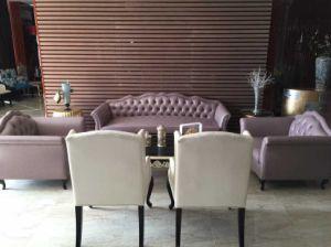 Hotel Furniture/Hotel Luxury Sofa/Hotel Living Room Sofa/Canteen Sofa/European Style Luxury Hotel Lobby Sofa (NCHS-002) pictures & photos
