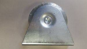 Galvanized Steel Bearings Sliding Door Hanging Gate Wheel pictures & photos