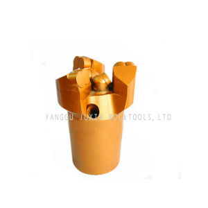 Three Wings Inner Concave Non Core PDC Drill Bit