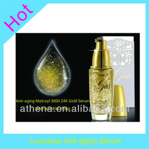 Anti-Aging Matrixyl 3000 24k Gold Serum pictures & photos