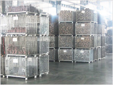 Warehouse Storage Folding Stackable Steel Wire Mesh Container pictures & photos