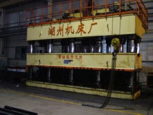Automobile Longitu-De Beam Hydraulic Press pictures & photos