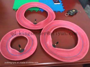 4.00-8 Red Tube for Motorcycle Tyre pictures & photos