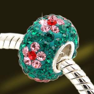 Website Hot Selling Jewelry Crystal Glass Bead (AV0358)