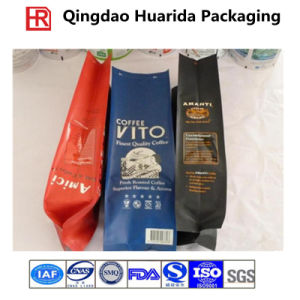 Back Sealed Custom Printed Coffee Packaging Sachet, Plastic Coffee Bag pictures & photos