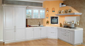 Kitchen Size for Customized Wooden PVC Kitchen Cabinet Furniture (zc-011) pictures & photos